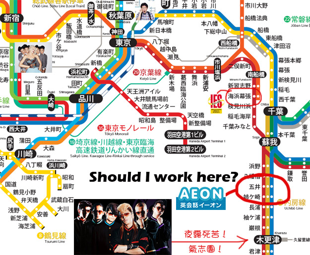 Aeon offer map